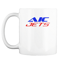 AIC JETS Corporation coffee mug