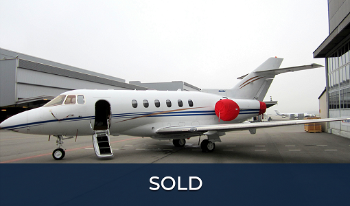 2008 Hawker 850XP for sale. Private jets for sale. Hawker Beechcraft private jet for sale. Aircraft brokers. Aircraft dealer USA.