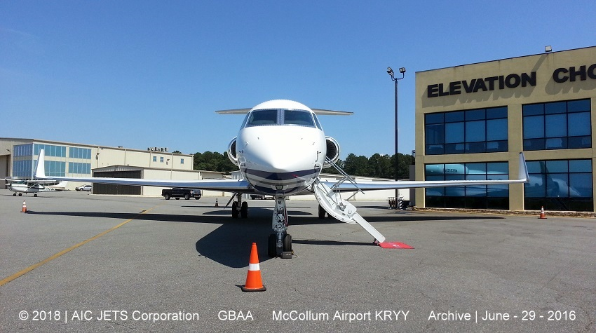 Aircraft Dealer and Broker USA | USA Aircraft Brokers | Gulfstream G550 static display | AIC JETS Corp. - Group of Companies