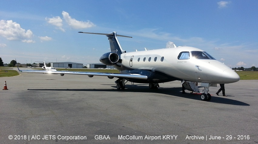 Legacy 450 static display |  Aircraft Dealer and Broker USA | USA Aircraft Brokers | AIC JETS Corp. - Group of Companies