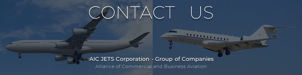 Worldwide offices locations - USA, Europe, United Arab Emirates, Asia, Australia | Private Jet, Commercial Aircraft and Helicopter Dealers and Brokers | AIC JETS Corporation Accredited and Certified Aircraft Brokers and Dealers in USA and Europe | AIC JETS Corporation – Group of Companies