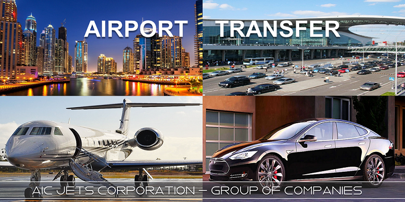 Private Jet Broker and Dealer | AIC JETS Corporation airport transfer in Dubai, Moscow, New York, London, Atlanta, Miami, Hong Kong