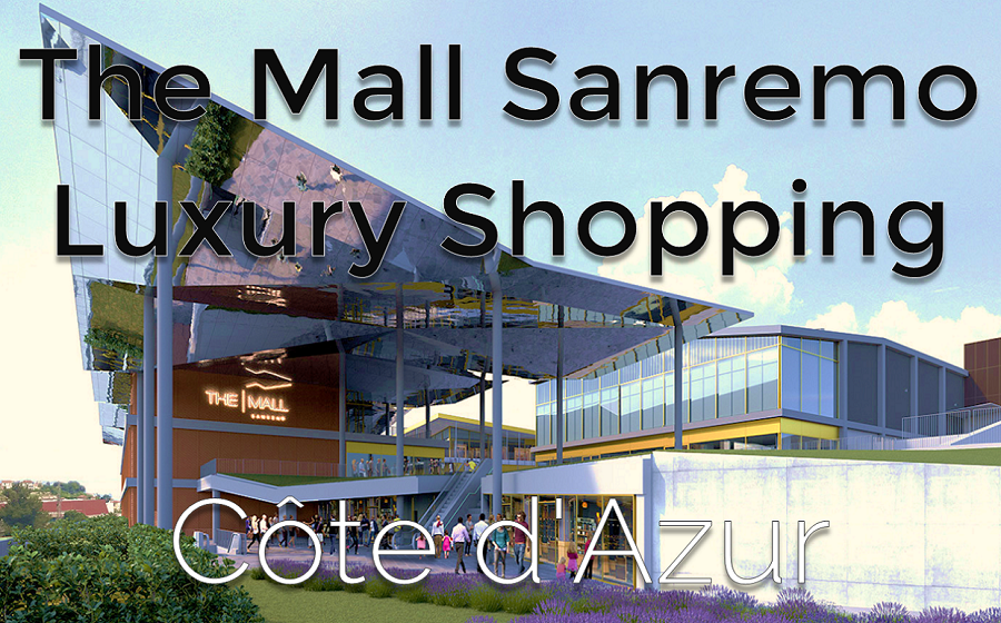 The Mall Sanremo Luxury Shopping - Côte d'Azur | Business Jet Brokers | Aircraft Broker and Dealer AIC JETS Corp.
