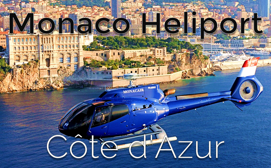Monaco Heliport - Monaco Helicopter tours - Côte d'Azur | Business Jet Brokers | Aircraft Broker and Dealer AIC JETS Corp. | Business Jet for Sale