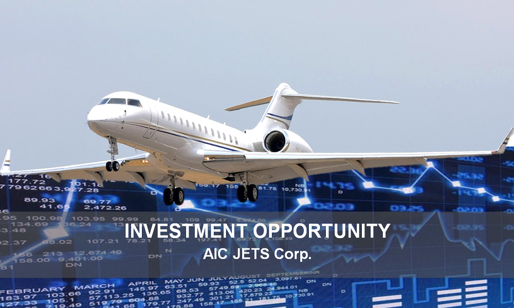 Business Jet Brokers | Private Jet Brokers | Exclusive Offer - Investment Opportunities with AIC JETS Corporation | Aviation Investment | Aviation Investors