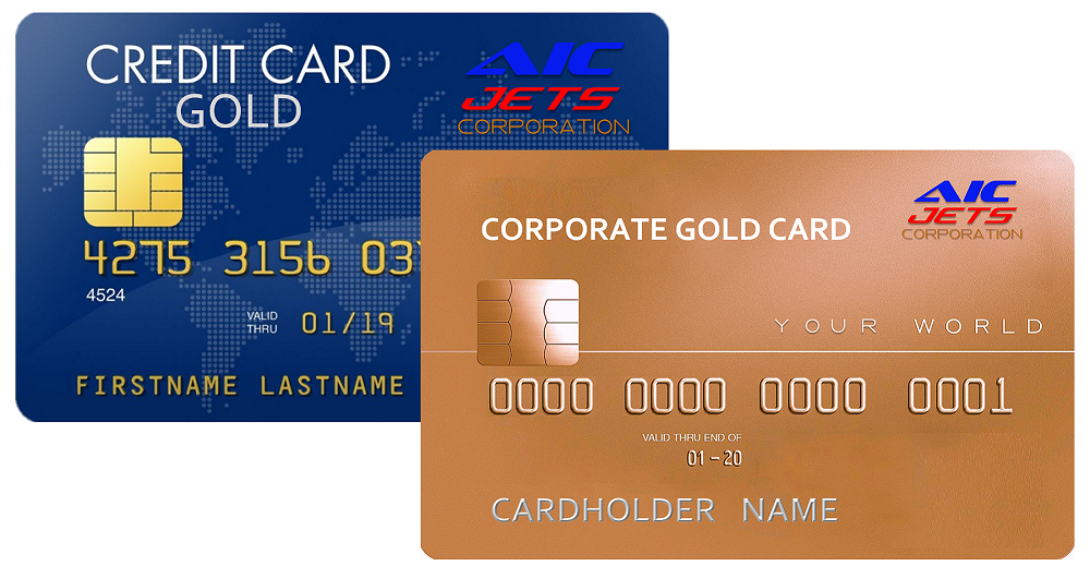 Corporate Credit Card | Jet Card Membership | Platinum Corporate Credit Card | Visa Corporate Credit Card | Corporate Fuel Credit Card  | AIC JETS Corp. Blue Credit Card | Aircraft and Helicopter Broker and Dealer USA | Corporate business credit card