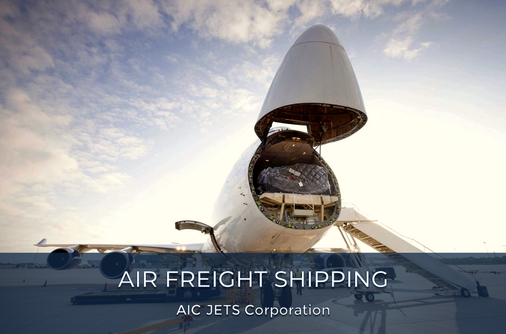 International Air Freight | Global Air Freight Forwarding | Air Charter | Air Cargo | AIC JETS Corporation