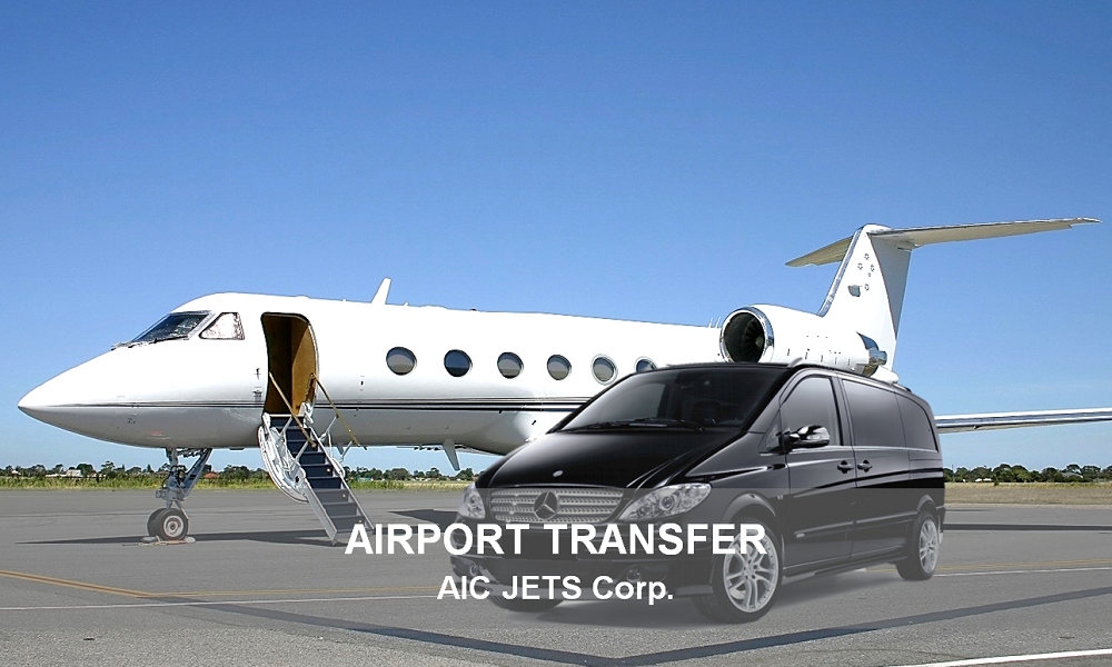 AIC JETS Corporate Executive Airport Transfer