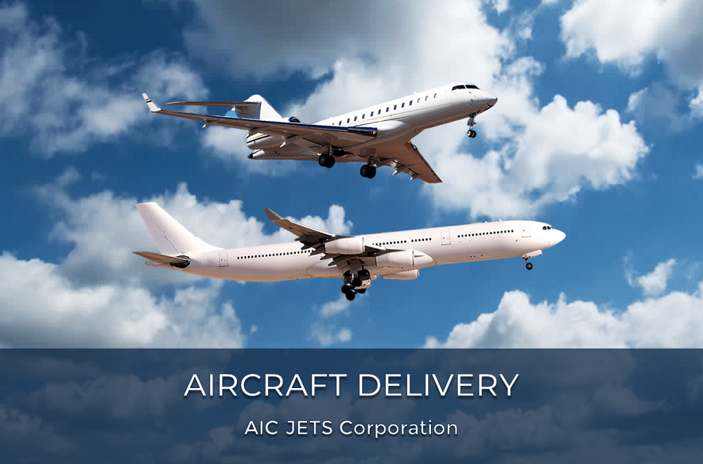 Commercial Aircraft Delivery - Airbus, Boeing | Airbus and Boeing orders and deliveries with pilots and flight attendants | Aircraft Ferry Services | Commercial Aircraft Ferry Flight Delivery | Worldwide Aircraft Ferry Services | AIC JETS Corporation - Group of Companies