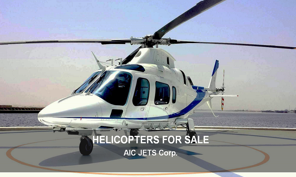 Aircraft and Helicopter Broker and Dealer | Helicopter For Sale | Helicopter Broker and Dealer USA | USA Aircraft Brokers | Helicopters for sale and purchase. AIC JETS Corporation helicopters for sale and purchase in USA, Europe, UAE, Russia, Hong Kong and Australia | AgustaWestland, Airbus, Bell, Eurocopter, Robinson, Sikorsky helicopters for sale