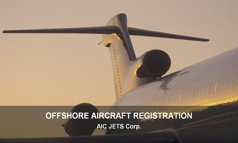 Offshore Aircraft Registration | AIC JETS Corporate Offshore Aircraft Registration Service