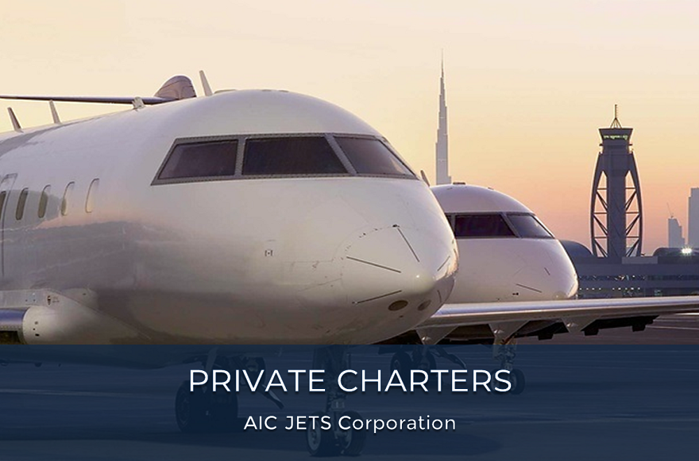 Private Charters | Inflight Catering Companies | VIP Flight Attendant Career | Europe | Middle East | Asia | AIC JETS Corporation