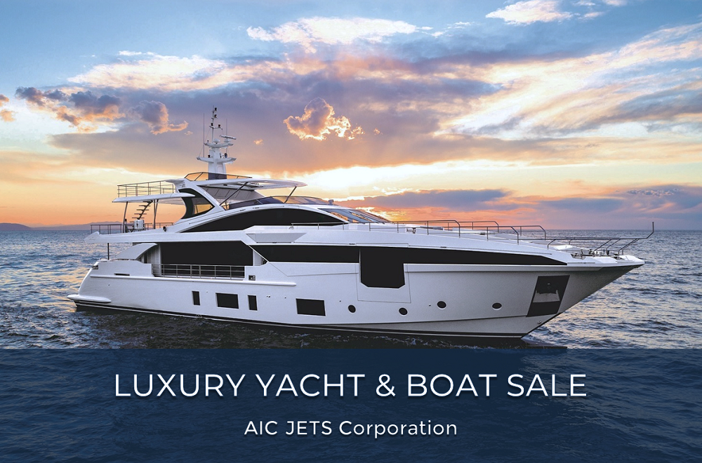 UAE Luxury Yacht and Boat Sales, Rent, Leasing | AIC JETS Corporation