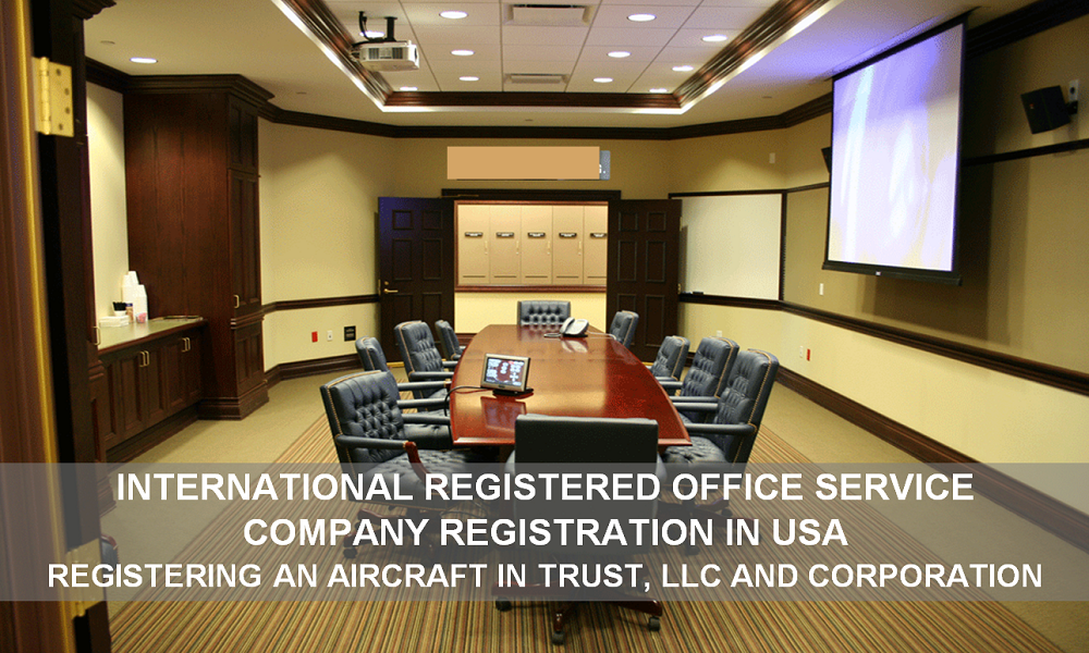 AIC JETS Corporate Registered Company - Registration and Office Services - Company, LLC, Corporation, Fund, Trust registration on territory of USA. Airline company International office branch support