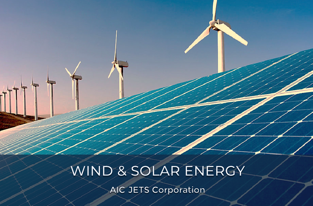 Wind and Solar Energy Projects in Europe, Middle East, USA | AIC JETS Corporation