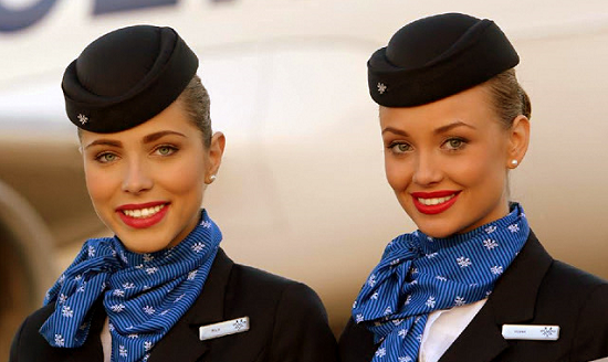 Airlines and corporate flight attendants