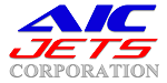 Corporate logo. Gold partner of AIC JETS Corporation, Dubai Free Zone UAE. Executive Jets Broker.