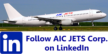 Follow AIC JETS Corp. - Group of Companies on LinkedIn | Commercial Aircraft For Sale And Lease | Private Jet For Sale | Helicopter For Sale | Private Jet Broker | Aircraft Broker and Dealer USA | USA Aircraft Brokers